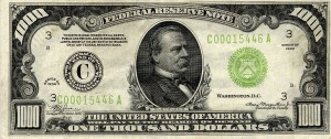 1000 dollar bill 2 300x126 Prosperity Thinking
